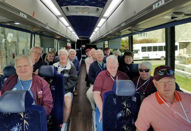 Old Guard reunion bus tour image